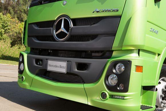 Toda a linha Actros passou por mudanças (Foto: Divulgação Mercedes-Benz)