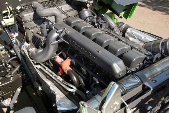O motor mais potente da família rende 510 cv de potência (Foto: Divulgação Mercedes-Benz)