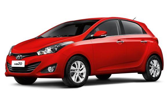 Hyundai HB20 (Foto: Divulgação Hyundai)