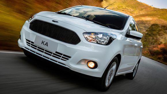 Ford Ka (Foto: Divulgação Ford)