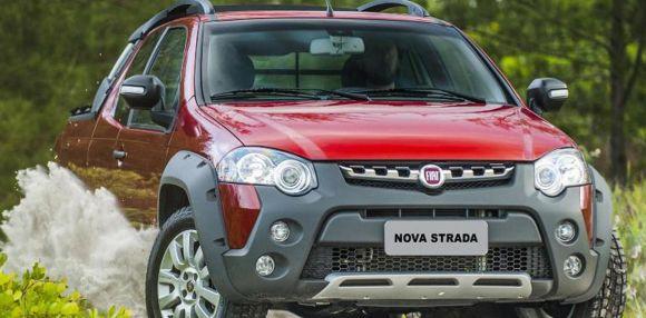 Fiat Strada (Foto: Divulgação Fiat)