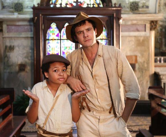 Os personagens Pirulito e Candinho (Foto: Reprodução Gshow)