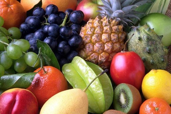 As frutas são ricas e vitaminas e sais minerais. (Foto Ilustrativa)