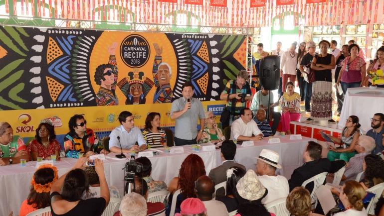 Atrações do Carnaval de Recife - Programação (Foto: Divulgação/Prefeitura de Recife)