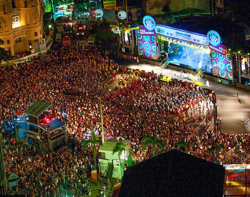 Shows acontecerão em vários pontos da cidade (Foto: Divulgação/Prefeitura de Recife)