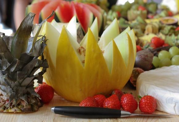 A fruta faz bem para a saúde dos olhos. (Foto Ilustrativa)