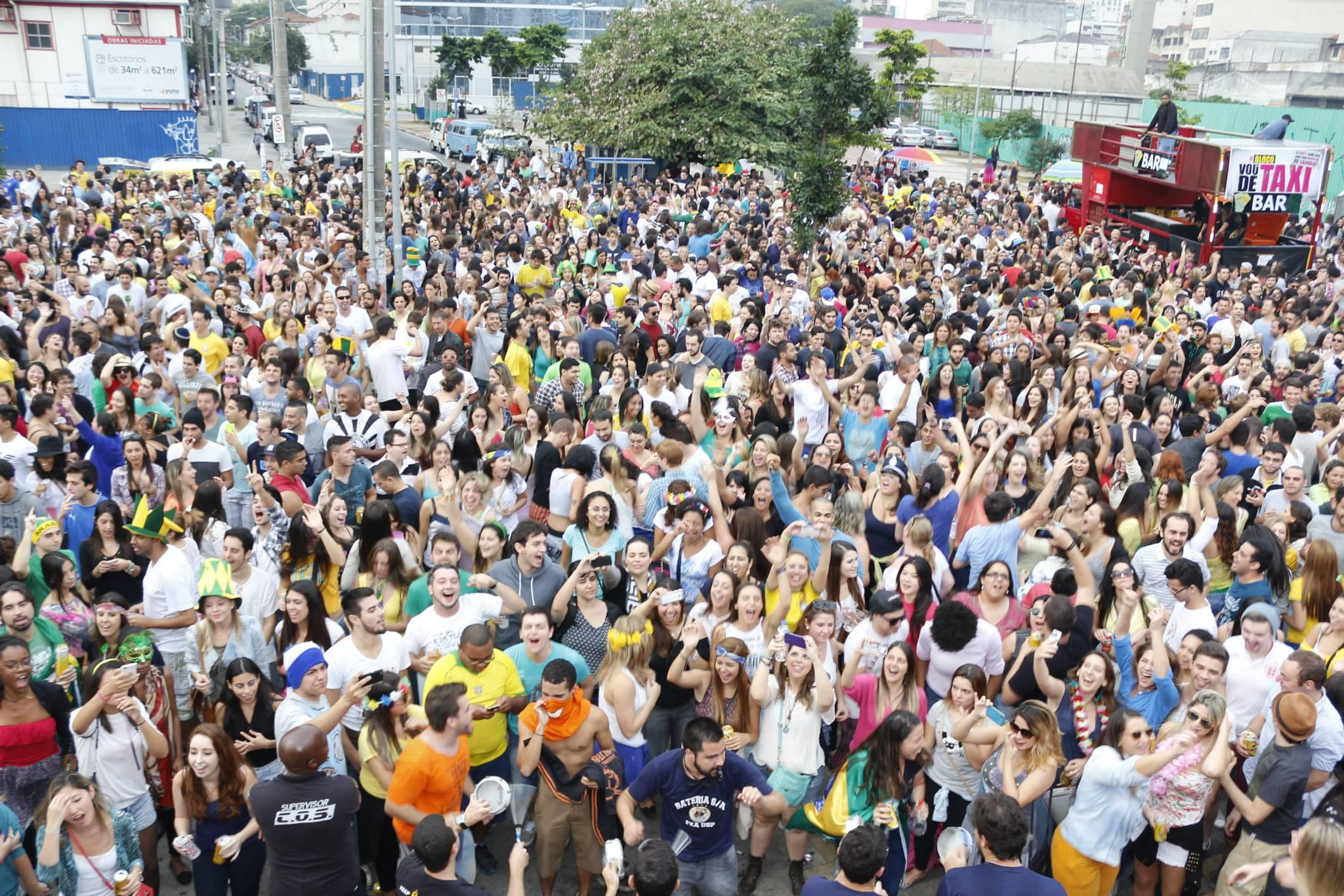 Em São Paulo, blocos crescem a cada ano (Foto: Veja SP/Abril)