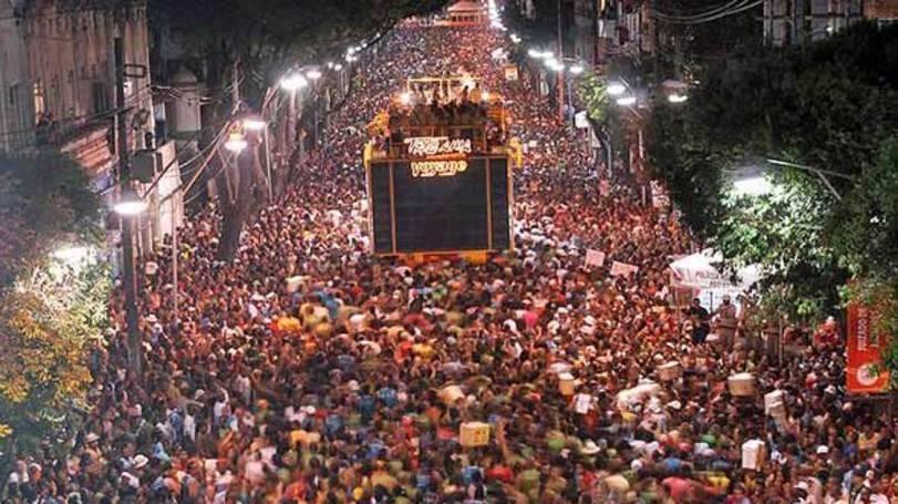 Milhares de pessoa visitam Salvador no carnaval (Foto: Exame/Abril)