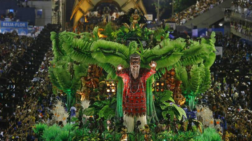 Carnaval 2016 - Beija-Flor, enredo (Foto: Exame/Abril)