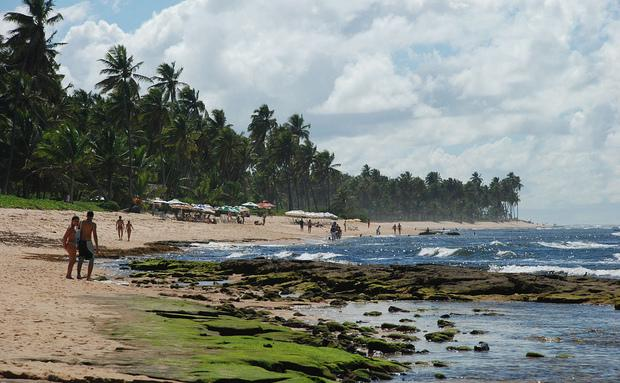 Praia recebe muitos turistas no verão (Foto: VIaje Aqui/Abril)