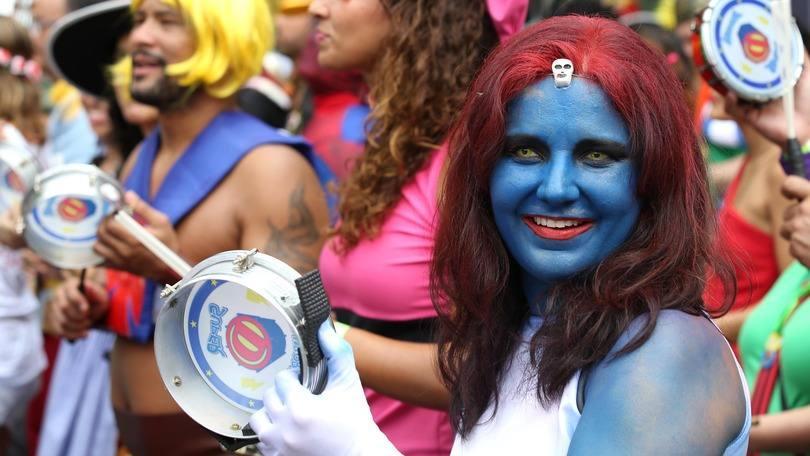 Quem gosta de curtir o bloco de carnaval, pode ousar na pintura (Foto: Exame/Abril)