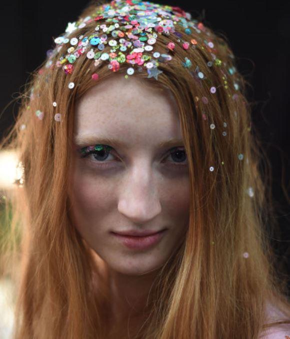 Confetti hair Tendências, fotos 4