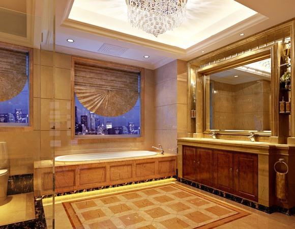 O ambiente decorado com mármore fica mais sofisticado. (Foto Ilustrativa)