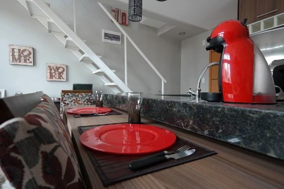 Decoração minimalista para aproveitar espaços na casa. (Foto Ilustrativa)