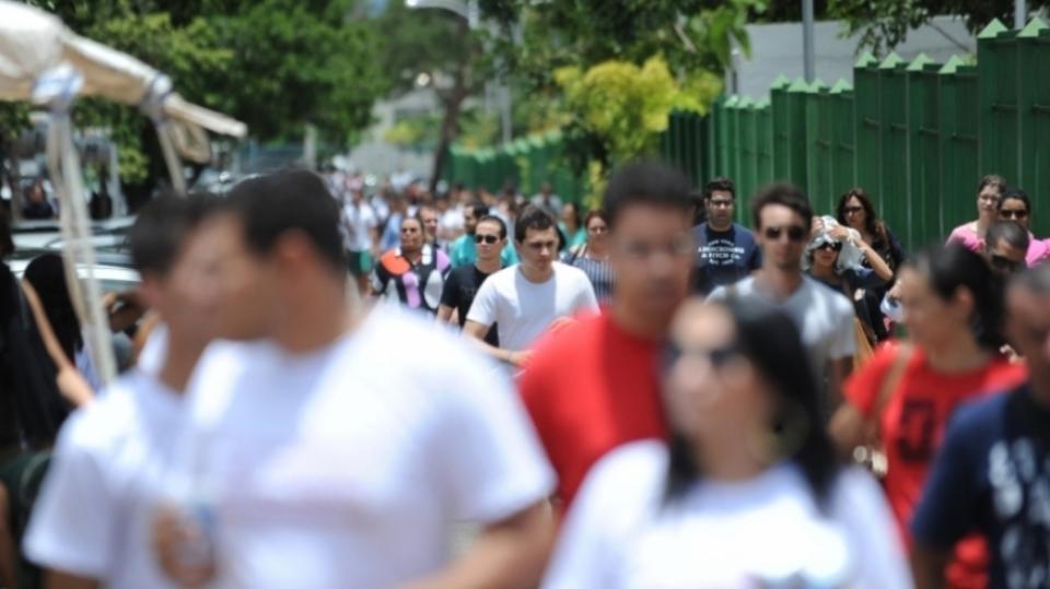 Estudantes são avaliados também pela prova  (Foto: Exame/Abril)