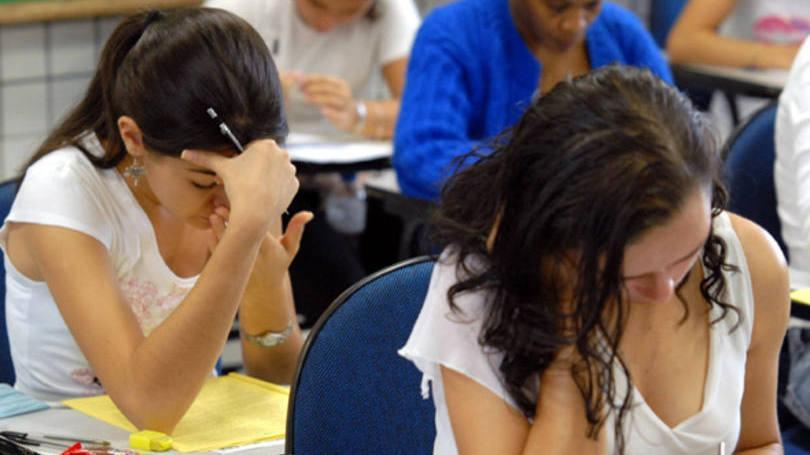 Jovens de escolas particulares parecem estar mais preparados para o vestibular, por exemplo (Foto: Exame/Abril)
