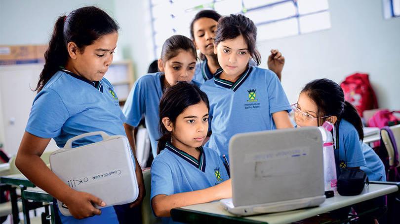 Escolas são mais qualificadas e atraem centenas de alunos (Foto: Exame/Abril)