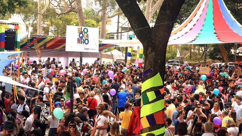 Blocos agitam o pré-carnaval no País (Foto: Exame/Abril)