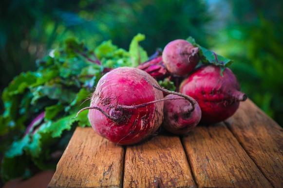 A beterraba é rica em vitamina C. (Foto Ilustrativa)