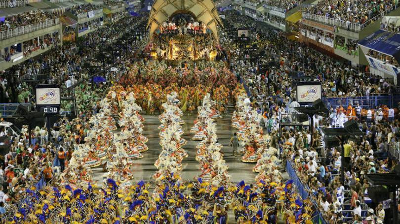 Rio de Janeiro e sua famosa passarela do samba (Foto: Exame/Abril)