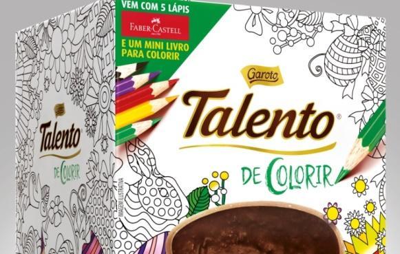 Talento de colorir. (Foto: Divulgação)
