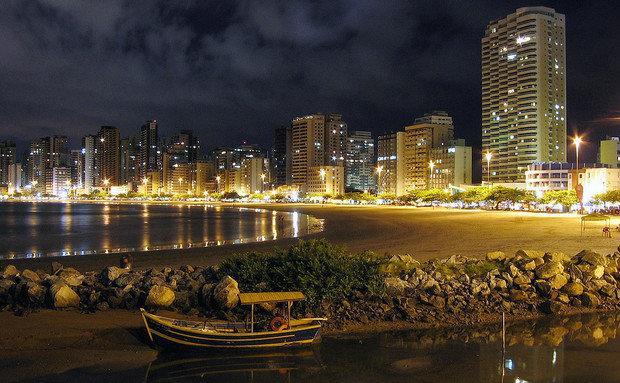 Cidade de noite é encantadora (Foto: Viaje Aqui/Abril)