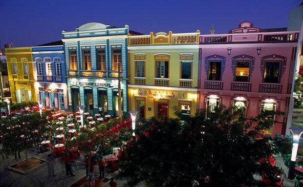 Centro histórico da cidade (Foto: Viaje Aqui/Abril)