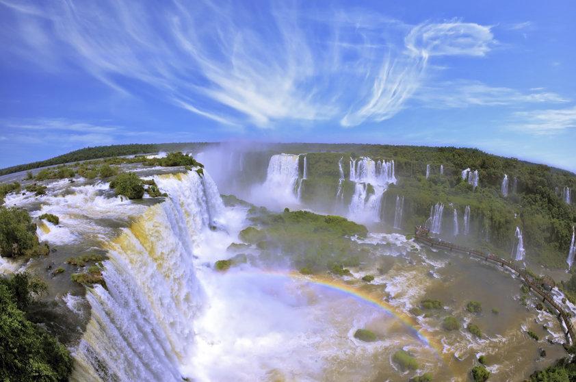 É possível ver a foz de vários ângulos (Foto: Viaje Aqui/Abril)