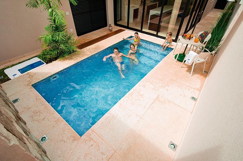 Piscinas igui pre os cat logo mundodastribos todas - Medidas de piscinas de casas ...