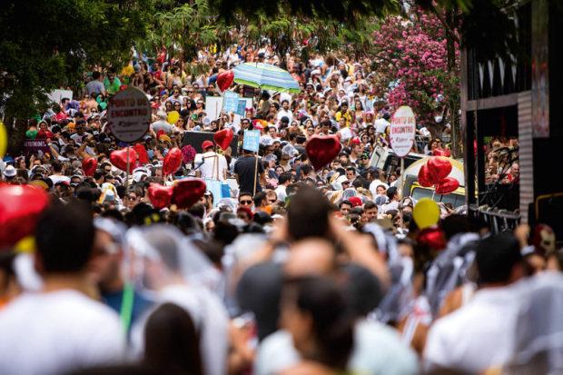 Blocos viraram tradição por conta do nordeste (Foto: Veja SP/Abril)