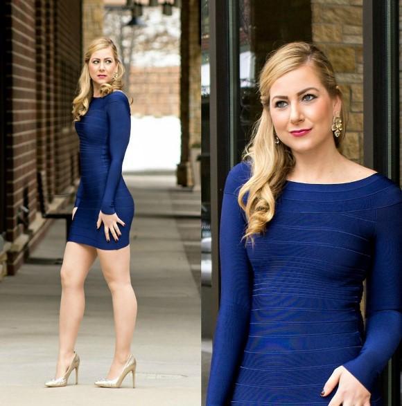 Esse modelo de vestido é bem sensual, por isso não combina com todas as ocasiões. (Foto Ilustrativa)