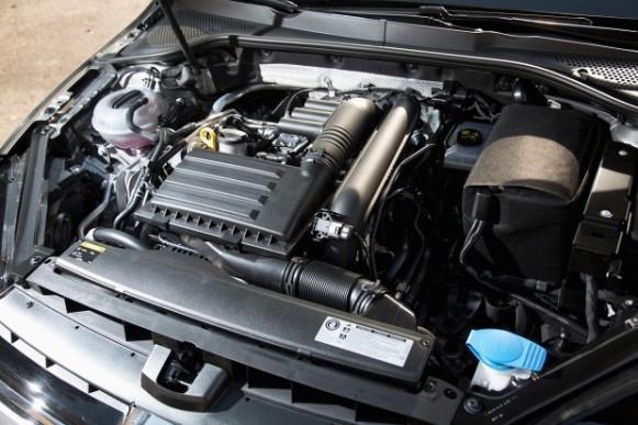 Novo motor do Jetta 2016. (Foto: Divulgação/Volkswagen)