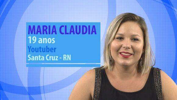 Maria Cláudia (Foto: Reprodução GShow)