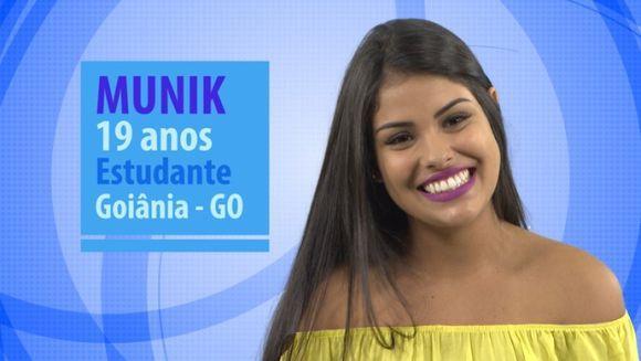 Munik (Foto: Reprodução GShow)