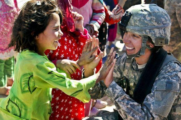 O Exército também oferece vagas para mulheres (Foto Ilustrativa)