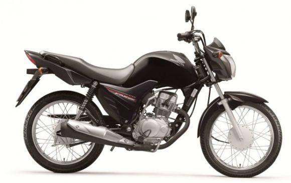 O modelo também está disponível na cor preta (Foto: Divulgação Honda)