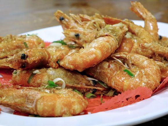 Escolha camarões de boa qualidade para colocar no acarajé (Foto Ilustrativa)