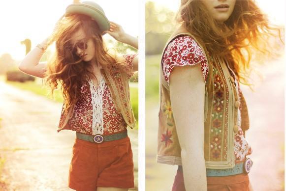 Cinto feminino bordado. (Foto: Reprodução/Lookbook.nu)