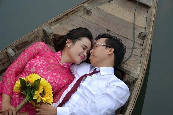 O ensaio pré-casamento está fazendo sucesso entre os noivos. (Foto Ilustrativa)