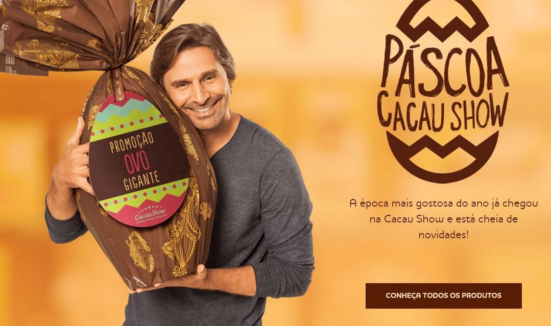 Cacau show 2016 - Ovos de Páscoa preços, informações (Foto: Divulgação/Cacau Show)