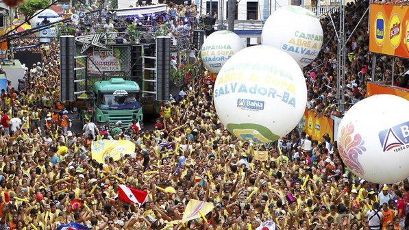 Camarotes Carnaval 2016 Salvador (Foto: Exame/Abril)