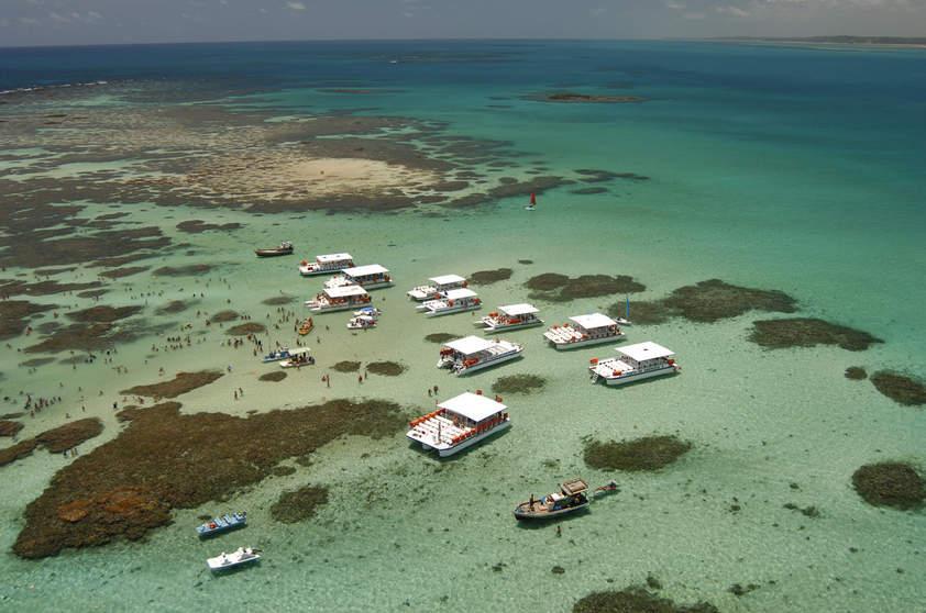 Região tem piscinas naturais (Foto: Viaje Aqui/Abril)