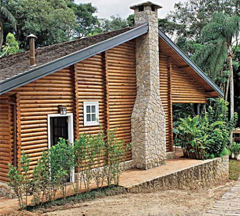 Casa de madeira delicada (Foto: Casa Abril)