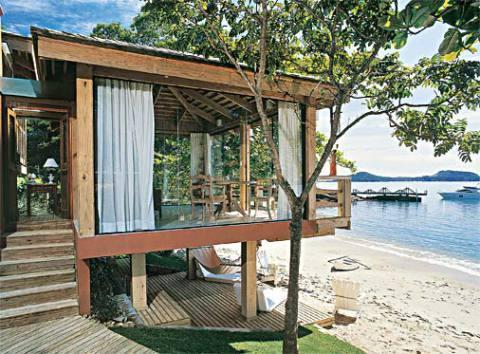 Casas de madeira pré-fabricada - fotos, preços (Foto: Casa Abril)