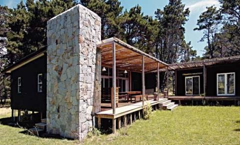 Linda casa de madeira (Foto: Casa Abril)