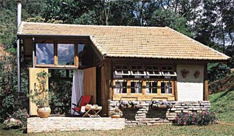 Casa de madeira grandiosa (Foto: Casa Abril)