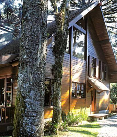 Casa se madeira diferente e linda (Foto: Casa Abril)