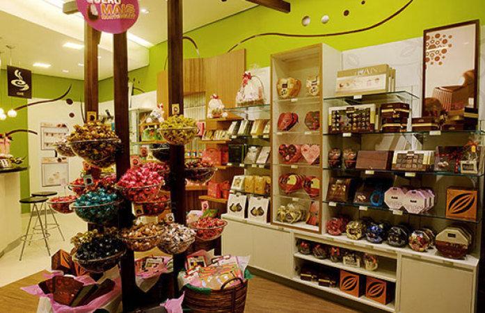 Loja também monta cesta de diversas maneiras  (Foto: Veja/Abril)