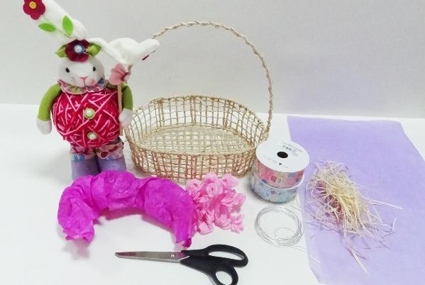 Para montar uma cesta de páscoa é simples (Foto: Reprodução/Pinterest)