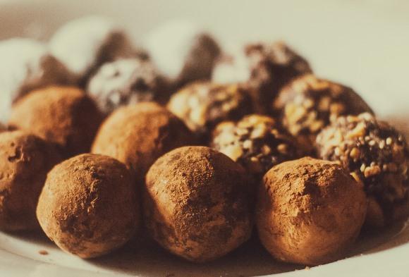 Trufas de chocolate. (Foto Ilustrativas)